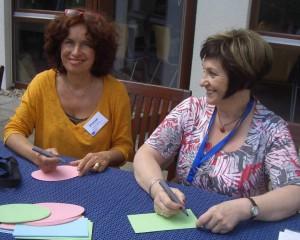 Eva-Maria Henning-Bekka und Paula Maraite