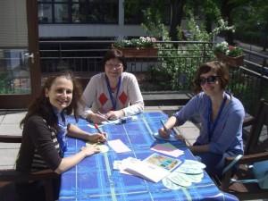 Jana Vichrova und Bozena Lanova und Nora Šulíková