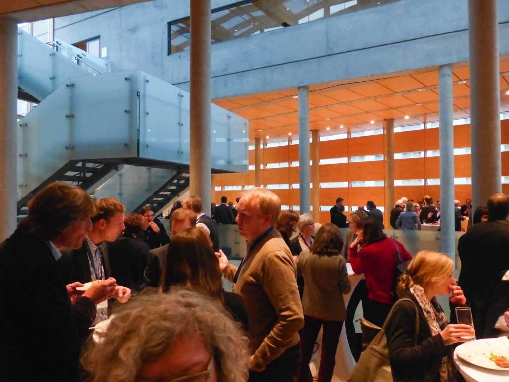 Netzwerken auf der Jahresveranstaltung 2013