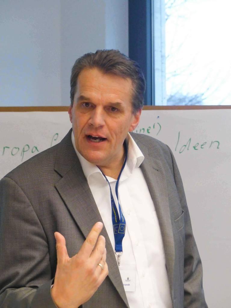 Henning Hildebrandt 4e Coach & Fördermittelmanager im Workshop