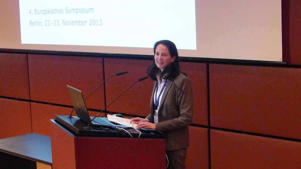 Begrüßung durch Heike Kraack-Tichy - 1. Vorsitzende der EU-Fundraising Association