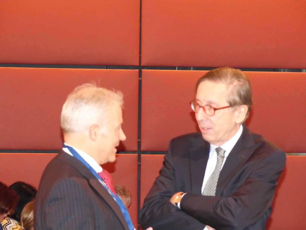 Georg Moser - Bayerisches Staatsministerium für Arbeit und Soziales, Familie und Integration - Staffan Carlson - Botschafter des Königreichs Schweden in Deutschland