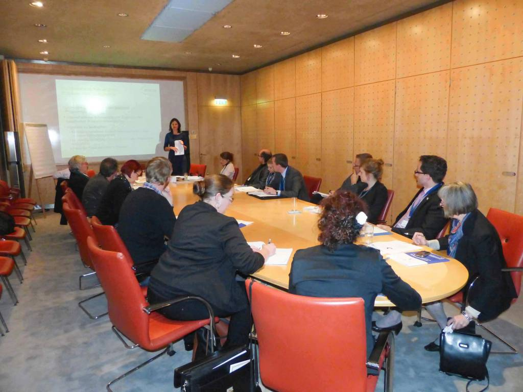 Im Workshop von Maja Denisow - emcra - Europa aktiv nutzen