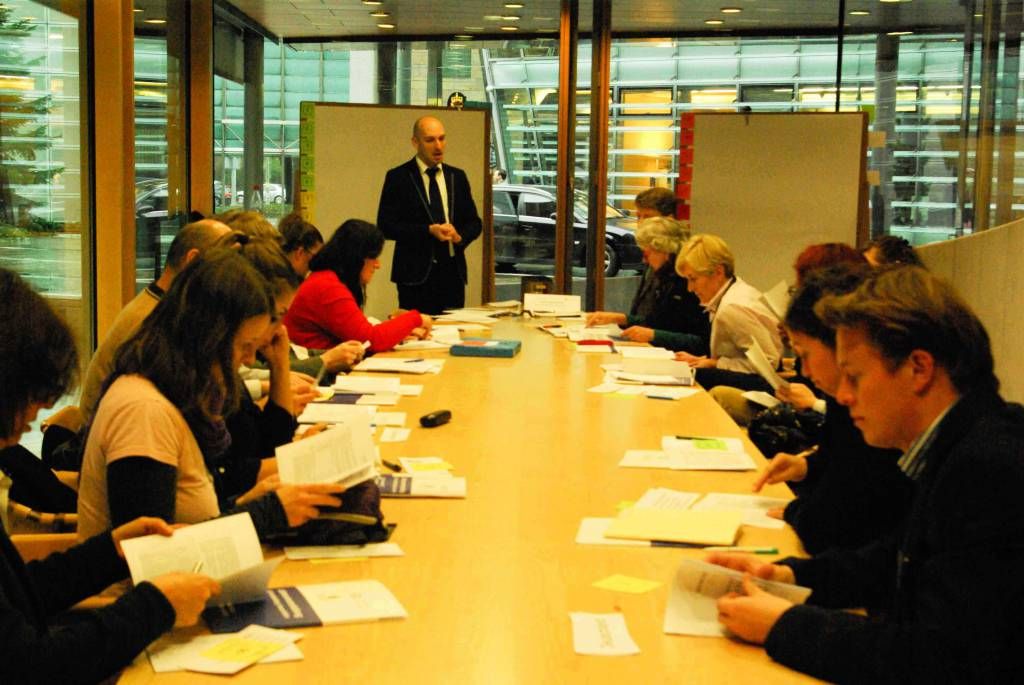 Pierre-Étienne Métais von emcra - Europa aktiv nutzen im Workshop